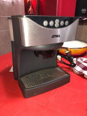 Cafetera express con vaporizador