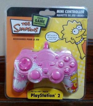 Joystick original de Los Simpsons San Isidro Ps2 Nuevo