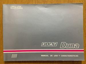 Manual De Fabrica Fiat Duna  Original Edición