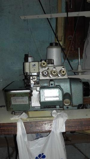 Maquina overlok industrial 5 hilos