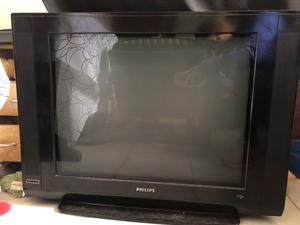 Tv Philips 29' pantalla plana. Impecable.
