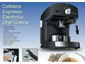 Cafetera Expresso Electrolux Chef Crema