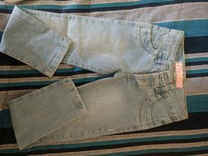 Jeans nuevo talle 6,para nena.