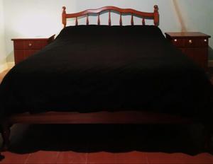Juego de dormitorio completo de madera de CEDRO