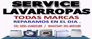 Service de lavarropas automaticos todas las marcas y modelo