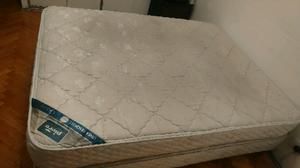 Sommier + colchon Piero Gravita 1,50x1,90m+ 2almohadas y