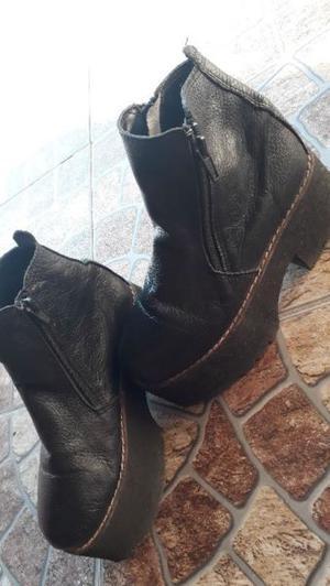 Venta de bota corta con plataforma