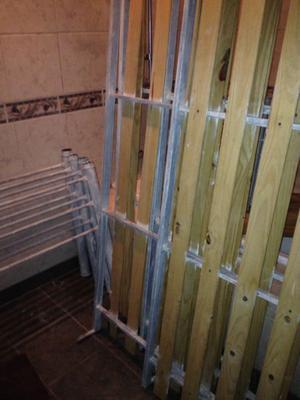 Cama cucheta o 2 camas de hierro
