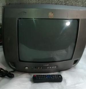 """Vendo TV PHILIPS 14"""" con control remoto"""
