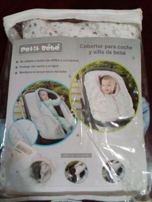 cobertor para coche y silla de bebe Resistente al agua