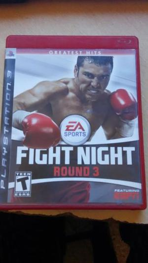 Vendo Fight Nigth Round 3 Greatest Hits para PS3.