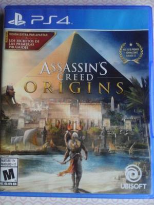 juego ps4 assassins creed origins - permuto