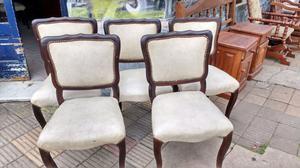 Juego de 6 sillas estilo Luis 15 impecables