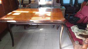 Líquido antigua mesa estilo francés extensible