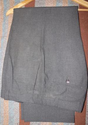 Pantalón de Traje Gris - Talle 52