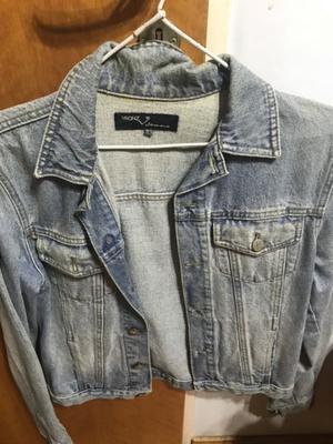 Campera de jeans. Nueva