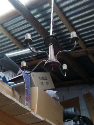 Lámpara de 4 luces antigua