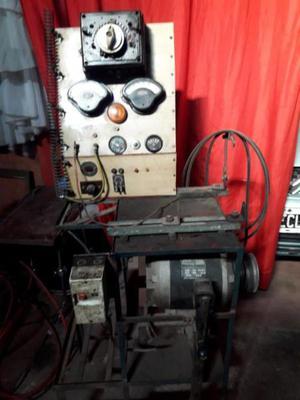 Maquina para verificar alternadores y reguladores de