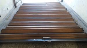 Puertas Plegadisas de madera y aluminio unicas en su estado