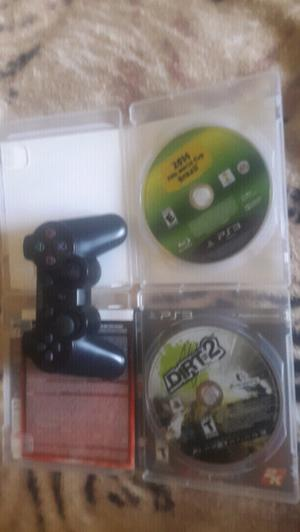 Vendo jostick y 2 juegos de play 3
