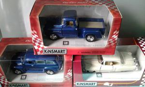 Autitos kinsmart 1:43 nuevos x 3 oferta