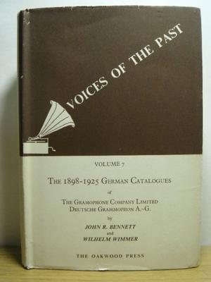 Voices Of The Past Vol 7 The  German Catalogue