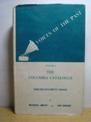 Voices Of The Past Vol 8 The  Columbia Catalogue