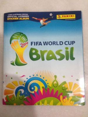 Álbum figuritas Mundial BRASIL  Panini