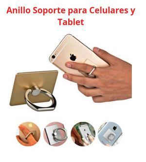 Anillo soporte para celulares y tablet