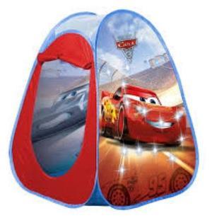 Carpa pelotero infantil Cars Disney nueva, medidas 86 x 86 x