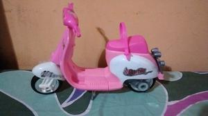Moto de Barbie