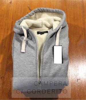 VENDO NUEVA!!! Campera de algodón con Corderito