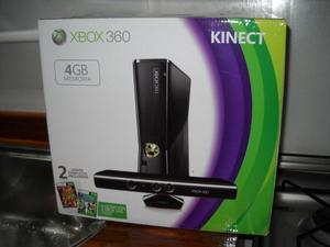 XBOX 360 CON KINECT, NUEVA, SIN USO