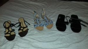 lote de zapatos y zapatillas de mujer
