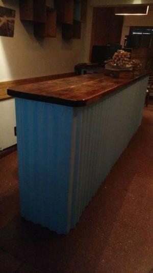 Barra para bar/cerveceria/cafeteria