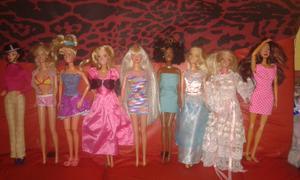 Vendo lote de 9 muñecas originales