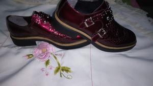 Zapatos de charol NAZARIA