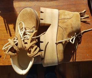 Zapatos de plataforma mujer