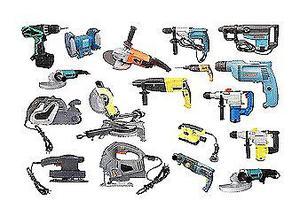 Se compran herramientas para reparar amoladoras taladros