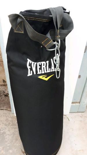 Bolsa de box everlast y guantes