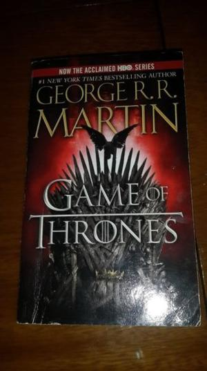 GAME OF THRONES (novela en ingles)