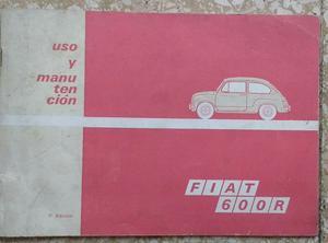 Manual Fiat 600 R