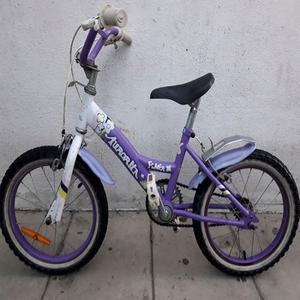Bicicleta Rodado 16 Nena Aurorita
