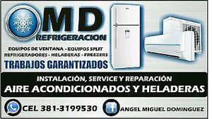 MD Instalación y reparación de aires acondicionados.