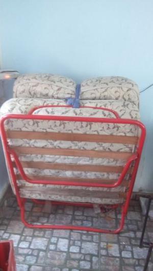 cama - catre de una plaza con colchón