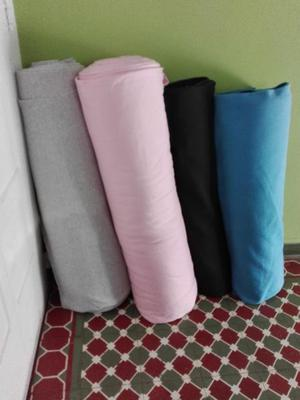 Rollos de telas de frisa algodon