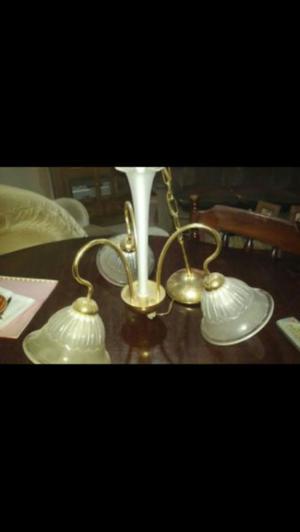 lampara colgante bronce