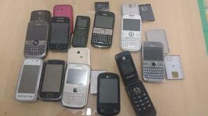 2 super lote celulares accesorios repuestos etc.