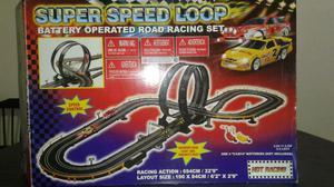Pista Autos De Carrera Super Speed Loop Impecable