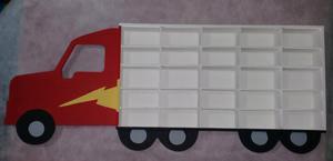 Repisa camion para autitos